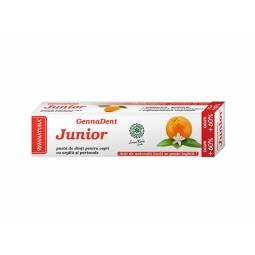 Pasta dinti junior portocala 80ml - VIVA NATURA