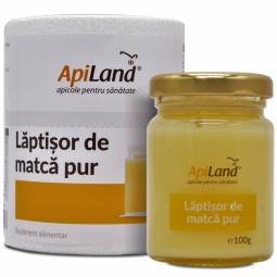 Laptisor matca pur crud conventional 100g - APILAND