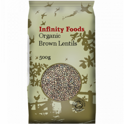Linte maro boabe 500g - INFINITY FOODS