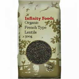 Linte frantuzeasca boabe 500g - INFINITY FOODS