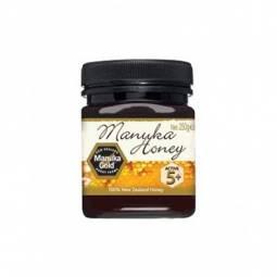 Miere Manuka umf5+ 250g - MANUKA GOLD