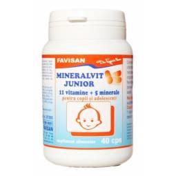 Mineralvit junior 40cps - FAVISAN