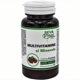Multivitamine minerale 60cps - SEVA PLANT
