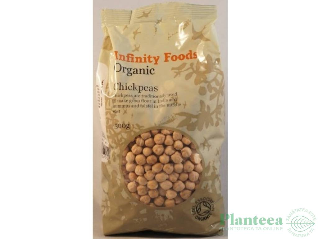 Naut boabe 500g - INFINITY FOODS