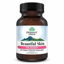 Beautiful skin [Ten radiant] 60cps - ORGANIC INDIA