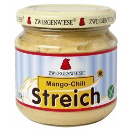 Pate vegetal fl soarelui mango chilli 180g - ZWERGENWIESE