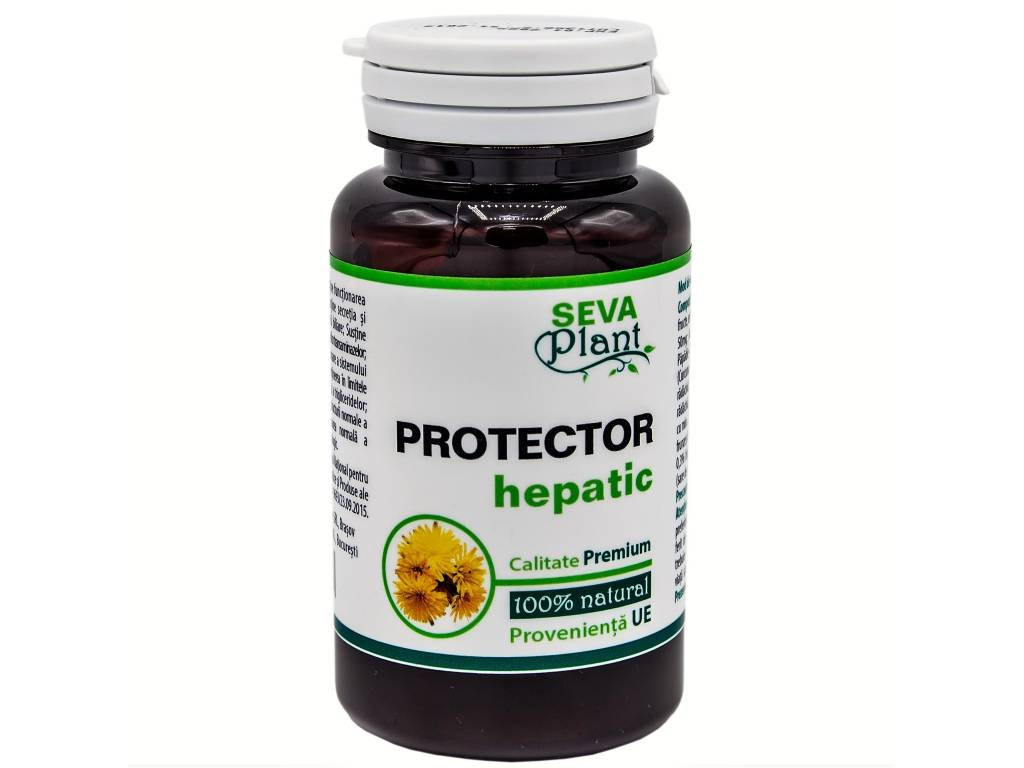 Protector hepatic 60cps - SEVA PLANT