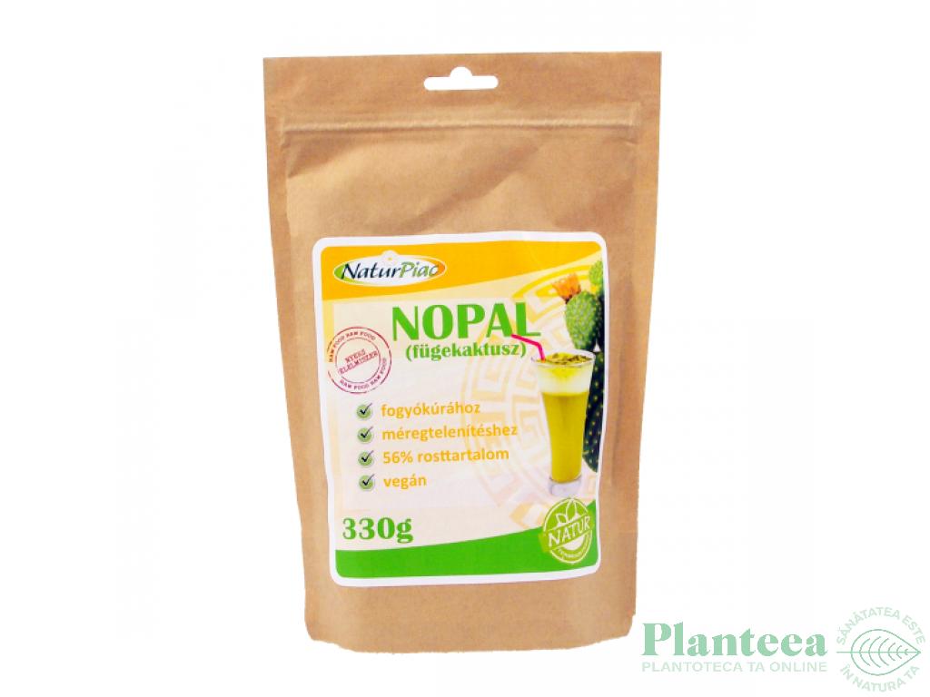 Pulbere nopal [cactus] 330g - NATURPIAC