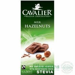 Ciocolata lapte cu alune stevie 85g - CAVALIER