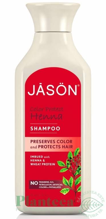 Sampon Henna Par Vopsit 473ml Jason Pret 461 Ron