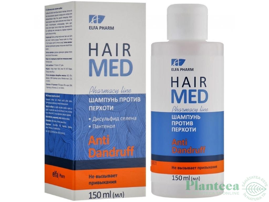 Sampon antimatreata calmant hidratant sulfura seleniu HairMed 150ml - ELFA PHARM
