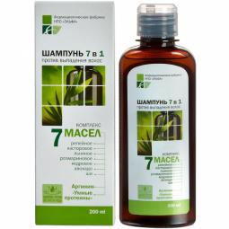 Sampon 7in1 imp caderii parului arginina proteine 7uleiuri 200ml - ELFA PHARM