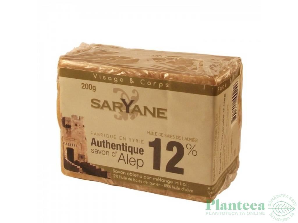 Sapun alep 12% 200g - SARYANE
