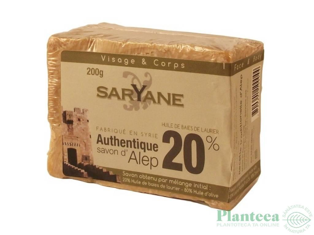 Sapun alep 20% 200g - SARYANE