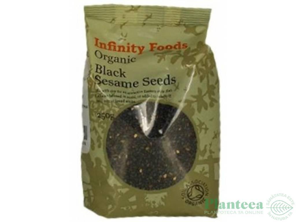 Seminte susan negru 250g - INFINITY FOODS