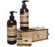 Set Cadou rustic [sampon 400ml+gel dus 400ml+sapun argana 40g] 3b - AZBANE
