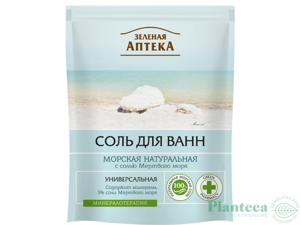 Sare de baie de la marea moarta cu ulei cocos exotic, 400 g, DermaSel