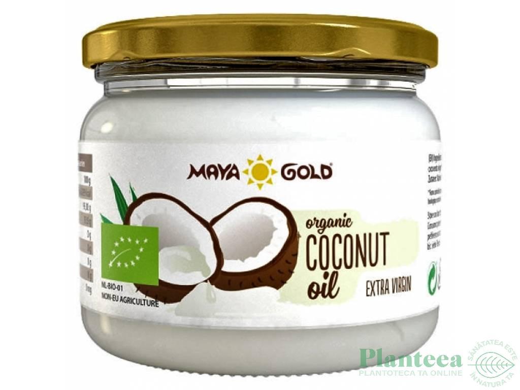 Ulei cocos extravirgin bio 250g/280ml - MAYA GOLD