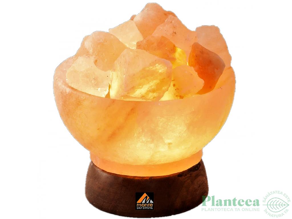 Veioza sare Himalaya Minge Foc 3_4kg - MONTE SALT CRYSTAL