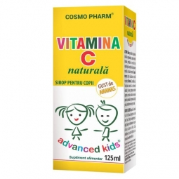 Sirop Vitamina C naturala copii 125ml - COSMO PHARM