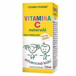 Sirop Vitamina C naturala copii 125ml - COSMO PHARM