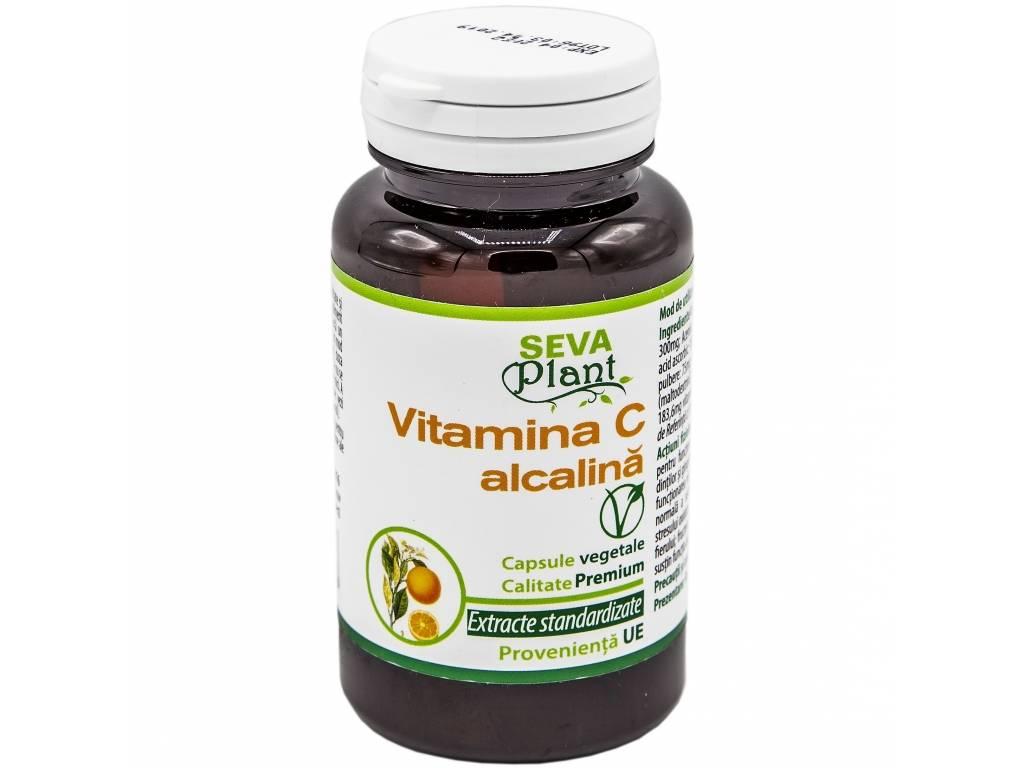 Vitamina C alcalina 60cps - SEVA PLANT