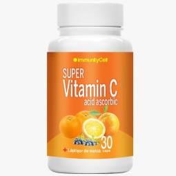 Super vitamina C acid ascorbic laptisor matca 30cps - RITUAL INTERNATIONAL