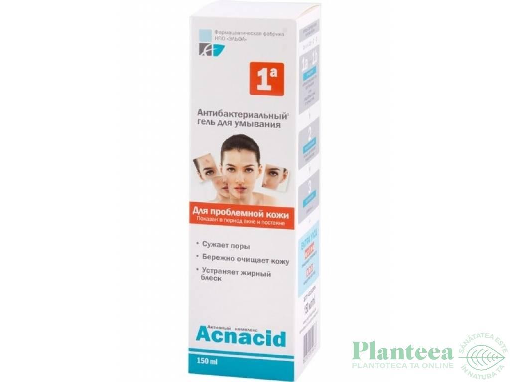 Gel antibacterian purificator Acnacid 150ml - ELFA PHARM