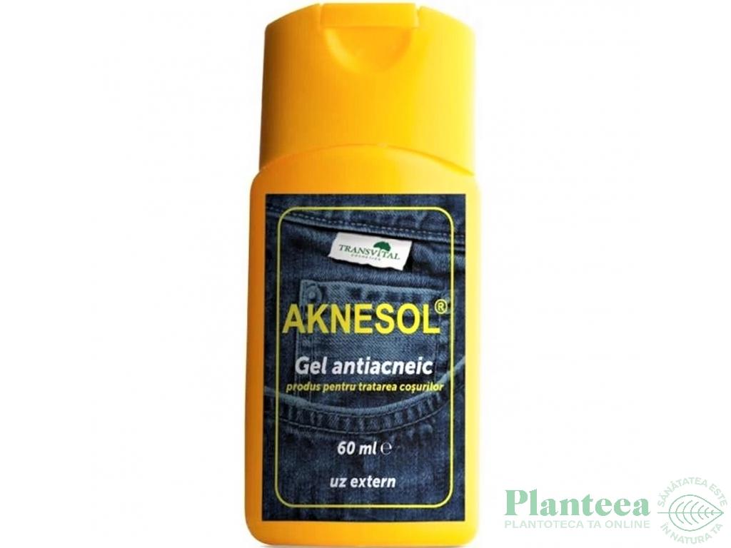 Gel antiacnee Aknesol 60ml - TRANSVITAL