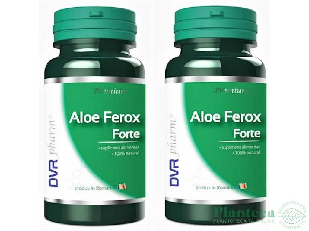 Pachet Aloe ferox forte 60+30cps - DVR PHARM