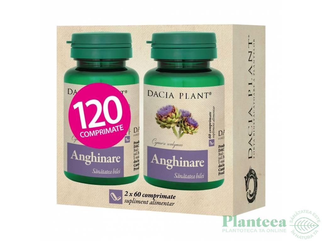 Pachet Anghinare 150mg {1+1} 60cp - DACIA PLANT