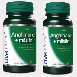 Pachet Anghinare maslin 60+30cps - DVR PHARM
