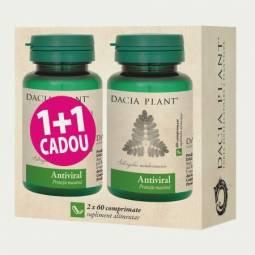 Pachet Antiviral {1+1} 60cp - DACIA PLANT