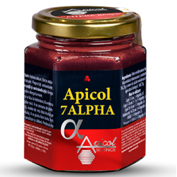 Miere rosie Apicol 7alpha 200ml - APICOL SCIENCE