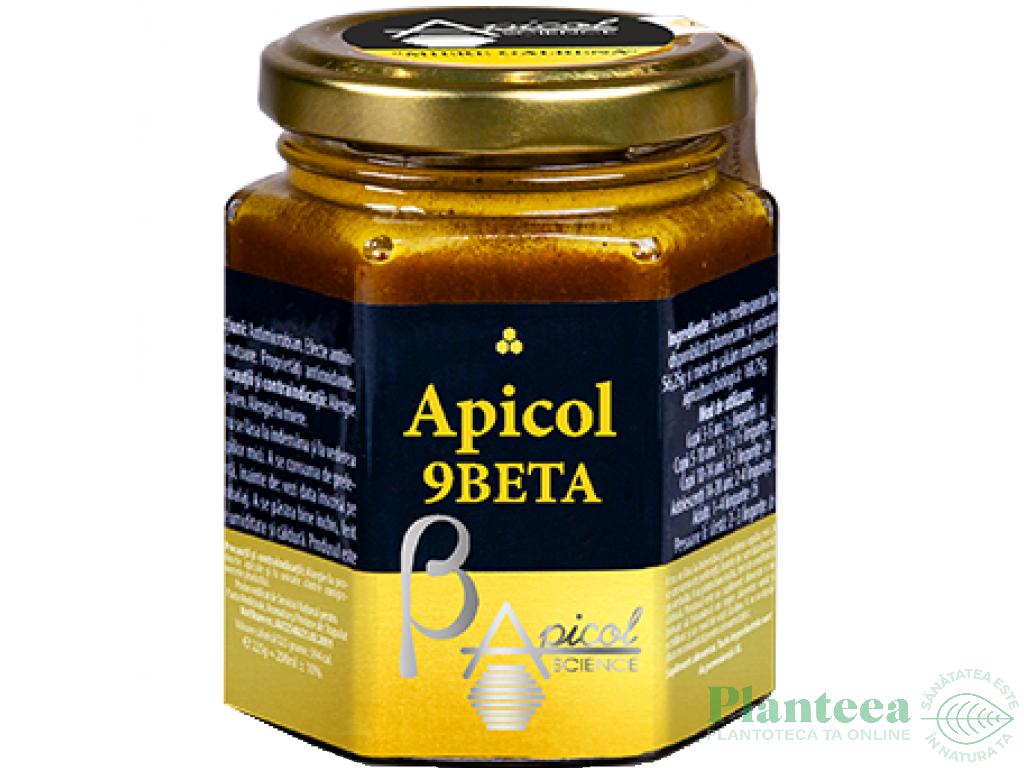 Miere galbena Apicol 9beta 200ml - APICOL SCIENCE