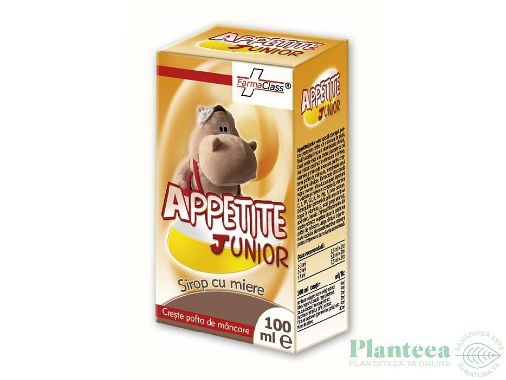 Sirop appetite junior 100ml - FARMACLASS