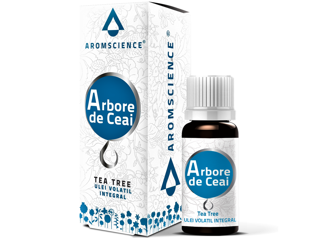 Ulei esential tea tree 10ml - AROM SCIENCE