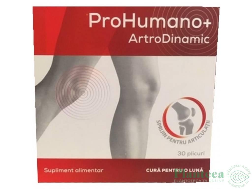ArtroDinamic ProHumano+ plicuri 30x6g - PHARMA LINEA