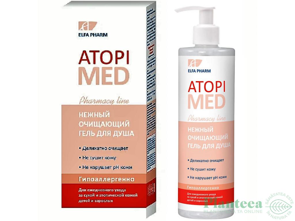 Gel dus delicat purificator piele atopica AtopiMed 400ml - ELFA PHARM