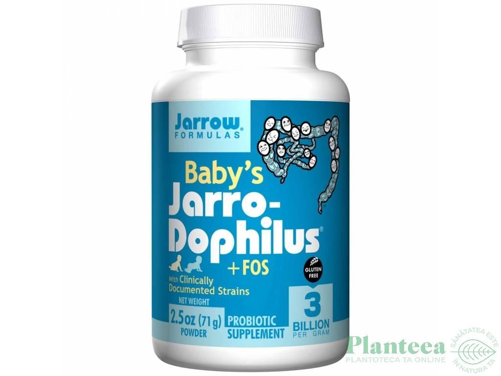 Baby`s jarro dophilus+FOS 71g - JARROW FORMULAS