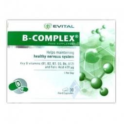 B complex 30cps - EVITAL