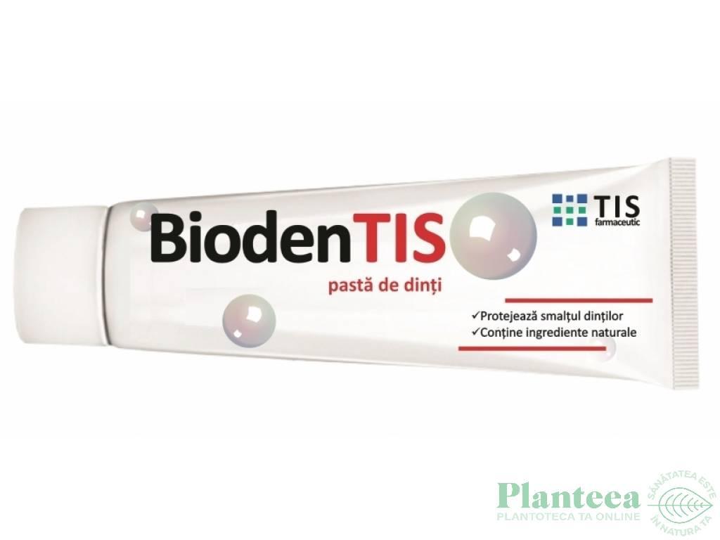 Pasta dinti BiodenTis 50ml - TIS