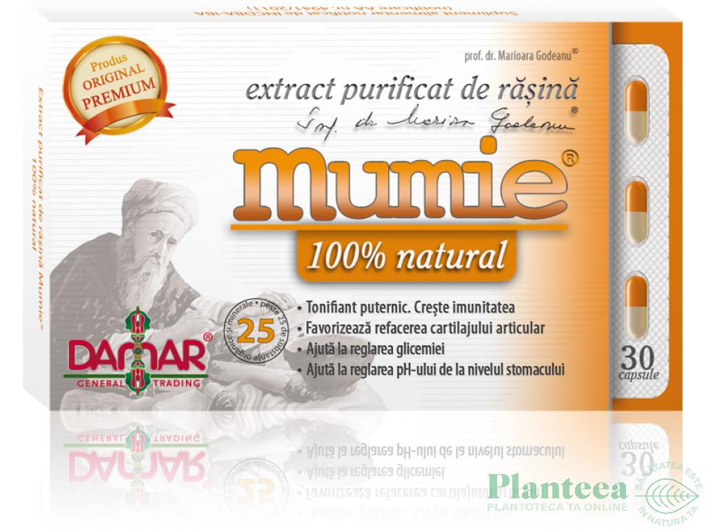 Mumie extract purificat rasina 30cps - DAMAR