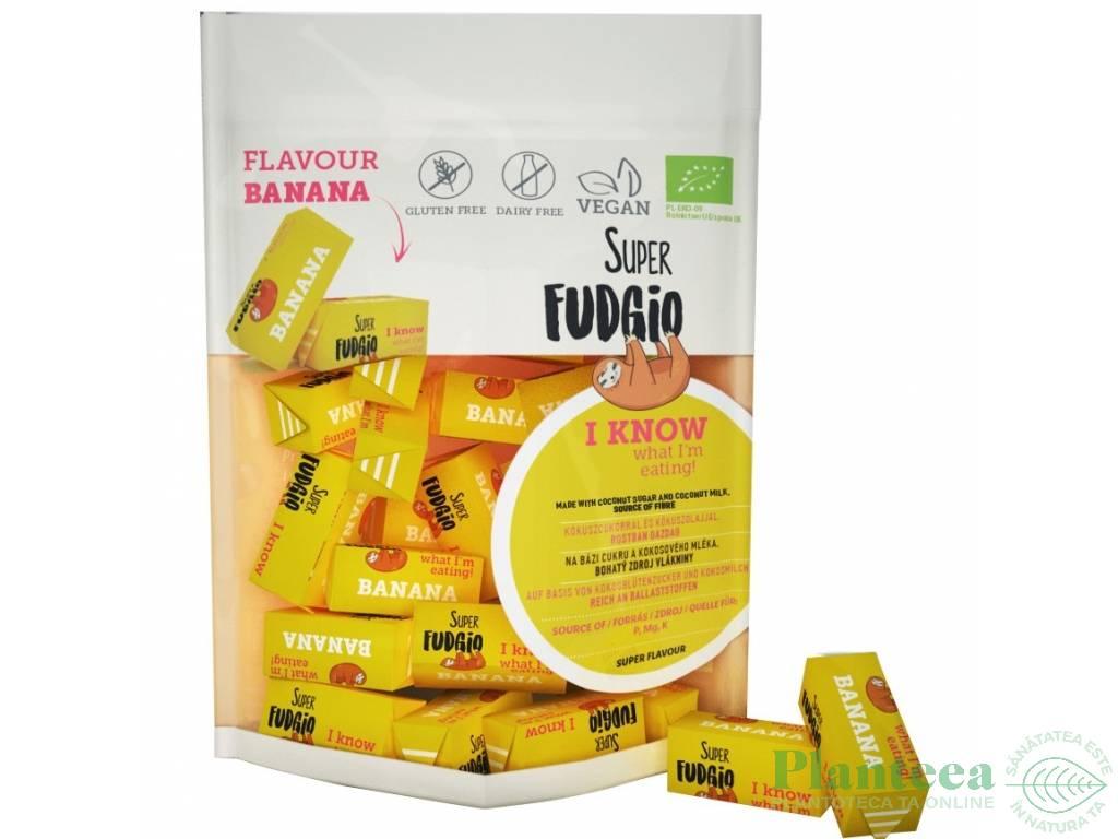 Caramele vegane banane fara gluten bio 150g - SUPER FUDGIO