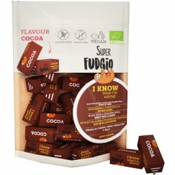 Caramele vegane cacao fara gluten bio 150g - SUPER FUDGIO