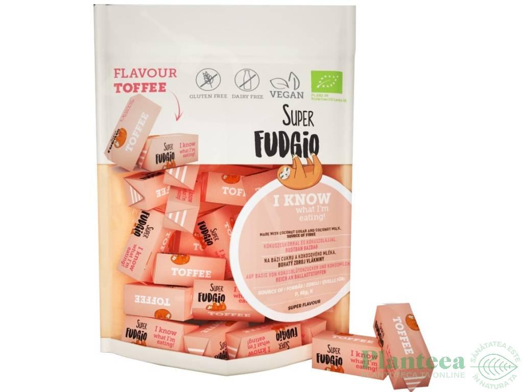 Caramele vegane toffee bio 150g - SUPER FUDGIO