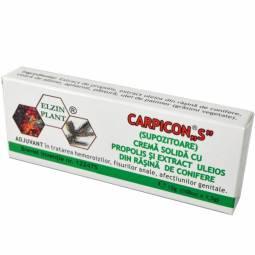 Supozitoare Carpicon S blister 10x1,5g - ELZIN PLANT