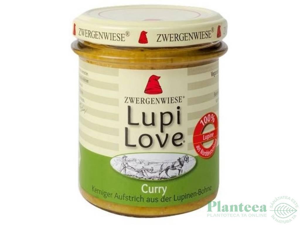Crema tartinabila lupin curry Lupi Love 165g - ZWERGENWIESE