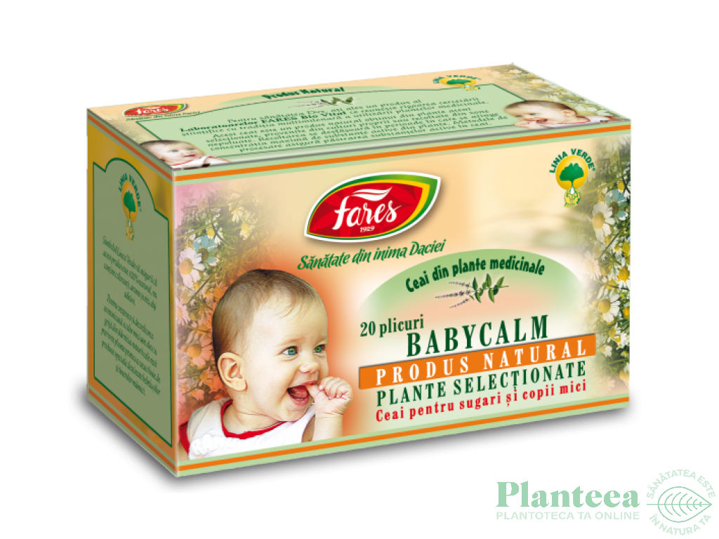 Ceai babycalm 20dz - FARES