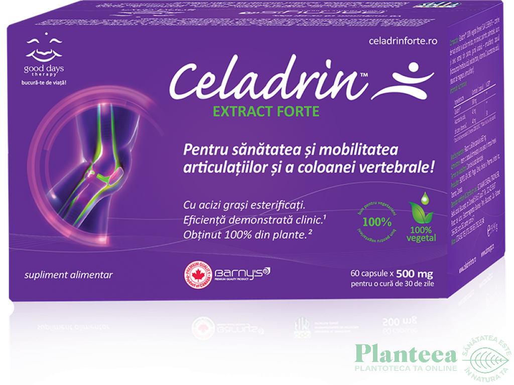 Celadrin extract forte 60cps - BARNY`S